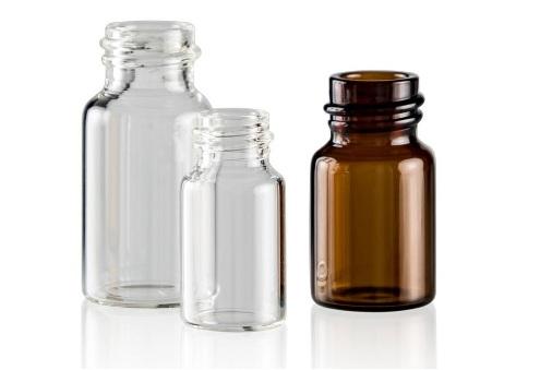 بطری های شیشه ای دارویی